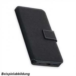 BookStyle Tasche Vertikal für LG Q6 - schwarz