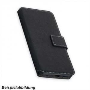 BookStyle Tasche Vertikal für Motorola Moto G5S Plus - Schwarz