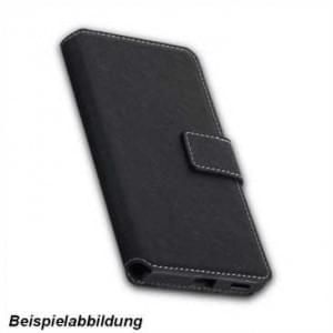 BookStyle Tasche Vertikal für Sony Xperia XA2 - schwarz