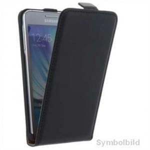 Flip Handytasche Vertikal für Sony Xperia XA2 Ultra schwarz