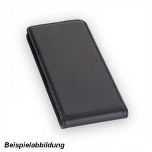 Flip Ledertasche Vertikal für Huawei P20 Lite schwarz
