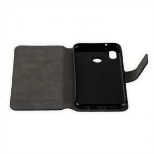 Book Style Handytasche für Huawei P20 Lite schwarz