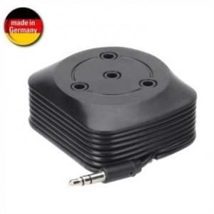 XiRRiX Mehrfach Audio Verteiler für bis zu 4 Kopfhörer über einen 3,5 mm Klinken-Stecker