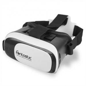 Virtual Reality VR Brille schwarz/ weiß - 4.0-5.7 Zoll 3D, Anti Blue Light Linsen