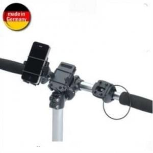HR Universal Fahrrad Motorrad Halter Kit für Geräte mit einer Breite von 46 bis 76 mm