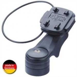 HR Universal Fahrradhalter mit Schnellverschluss f. Ahead-Lenkervorbau mit Secure-Fix Sicherungsring