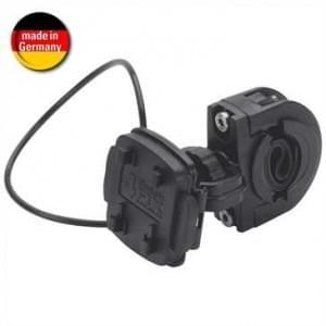 XiRRiX Fahrradhalter für Lenkerstange mit Schnellverschluss und mit Sicheruns-Spannring