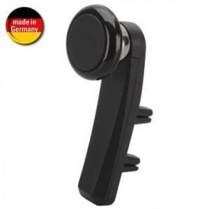 HR Kfz Smartphonehalter Duo-Magnetball für Lüftungslamellem für Smartphone inkl. Metall Plättchen