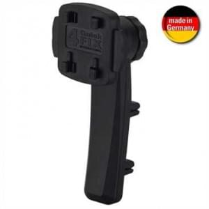 HR Kfz Smartphonehalter Dual Vent Mount mit 4QuickFIX - schwarz (Made in Germany)