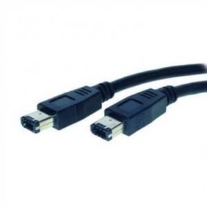 Fire Wire Kabel IEEE 1394 bis 400 MHz, 6-pol Stecker auf 6-pol Stecker - 3,0m