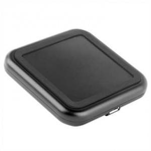 Kabelloses Laden Induktive Ladestation (Qi-fähig) mit USB Kabel - Farbe: Schwarz