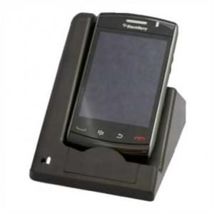 Dockingstation (USB) für Blackberry 9550 Storm 2, 9520 Storm 2 - schwarz