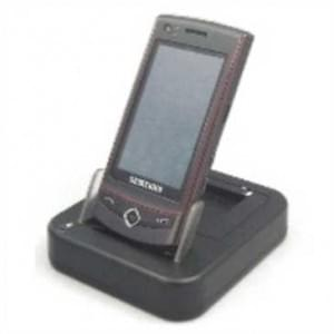 Paserro Dockingstation (USB) DUO mit zweiten Akku-Ladeschacht für Samsung Wave S8500