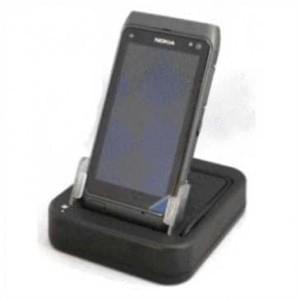 USB Dockingstation für Nokia N8-00 - inkl. Netzladegerät - schwarz