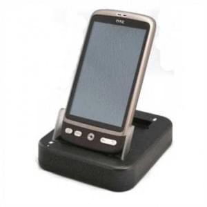 Dockingstation USB DUO mit zweiten Akku Ladeschacht für HTC 7 Trophy