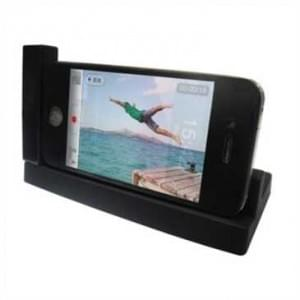 Dockingstation Ladestation USB Dock Tischlader Cradle horizantal für Apple iPhone 4S / 4