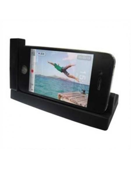 Dockingstation Ladestation (USB) Dock Tischlader Cradle horizantal für Apple iPhone 4S, iPhone 4