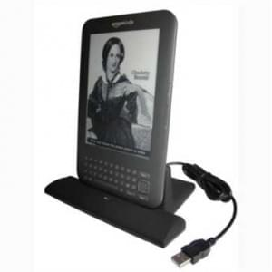 Dockingstation Ladestation (USB) Dock Tischlader Cradle für Amazon Kindle Keyboard 3G, Kindle 3