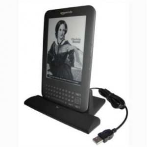 Dockingstation Ladestation (USB) Dock Tischlader Cradle für Amazon Kindle Keyboard 3G, Kindle 3
