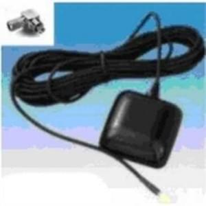 GPS Aktivantenne mit MC Stecker - 90° Stecker - magnetischer Halt - wasserfest - Kabellänge: 5 m