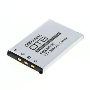 Ersatzakku ersetzt Casio NP-20 Li-Ion