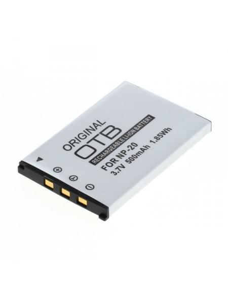 CE zertifiziert Akku, Ersatzakku ersetzt Casio NP-20 Li-Ion