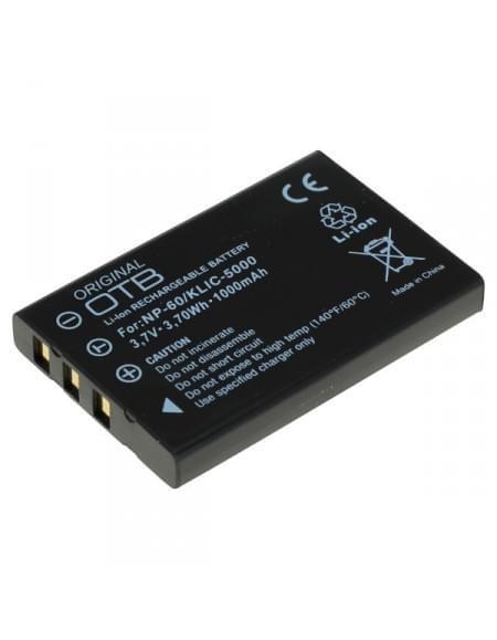 CE zertifiziert Akku, Ersatzakku ersetzt Fuji NP-60 Li-Ion