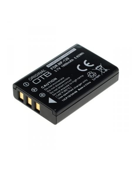 CE zertifiziert Akku, Ersatzakku ersetzt Fuji NP-120 Li-Ion