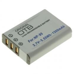 Akku / Ersatzakku ersetzt Fuji NP-95 Li-Ion