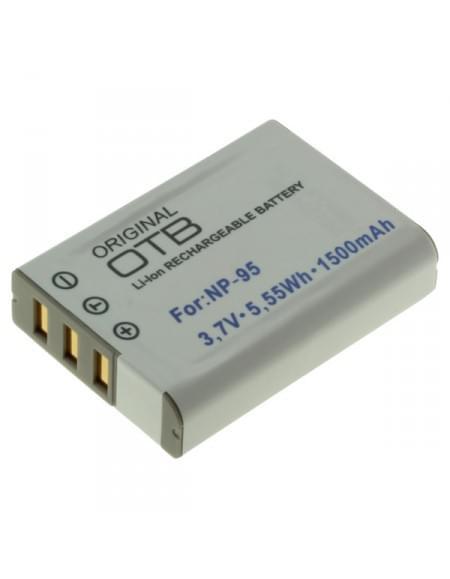 CE zertifiziert Akku, Ersatzakku ersetzt Fuji NP-95 Li-Ion