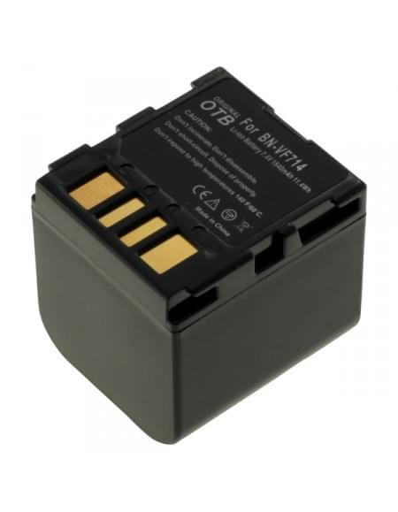 CE zertifiziert Akku, Ersatzakku ersetzt JVC BN-VF714 Li-Ion