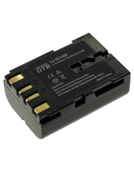 CE zertifiziert Akku, Ersatzakku ersetzt JVC BN-V408 / BN-V416 / BN-V428 Li-Ion