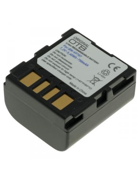 CE zertifiziert Akku, Ersatzakku ersetzt JVC BN-VF707 Li-Ion