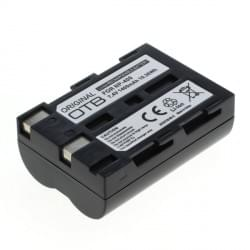 Akku / Ersatzakku ersetzt Minolta NP-400 / Samsung SLB-1674 / Pentax D-Li50 Li-Ion