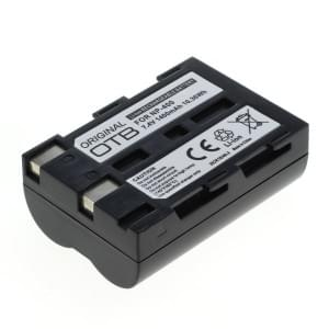 Ersatzakku ersetzt Minolta NP-400 / Samsung SLB-1674 / Pentax D-Li50 Li-Ion