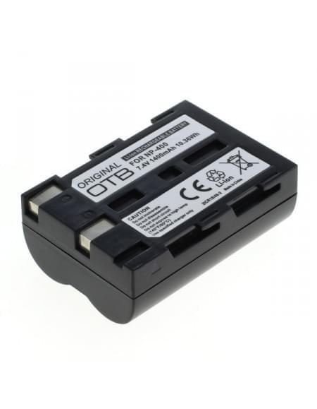 CE zertifiziert Akku, Ersatzakku ersetzt Minolta NP-400 / Samsung SLB-1674 / Pentax D-Li50 Li-Ion