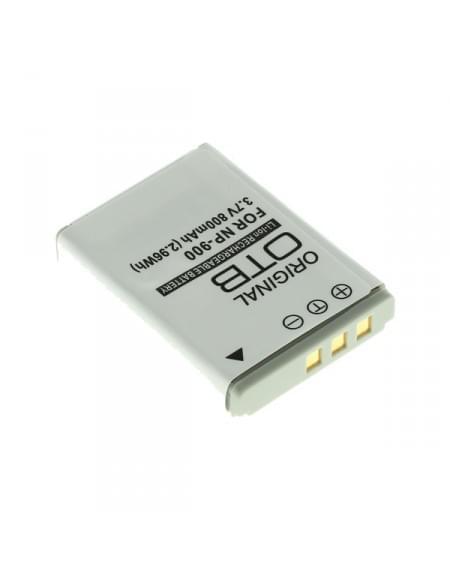 Akku, Ersatzakku ersetzt Minolta NP-900 / Olympus LI-80B Li-Ion