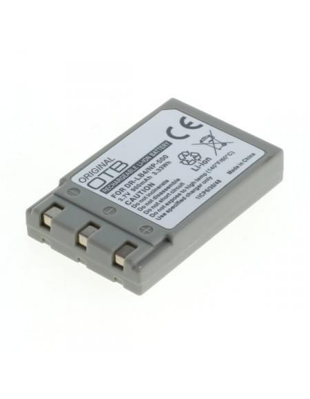 CE zertifiziert Akku, Ersatzakku ersetzt Minolta NP-600 Li-Ion