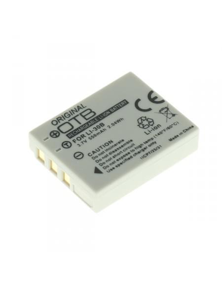 CE zertifiziert Akku, Ersatzakku ersetzt Olympus LI-30B Li-Ion