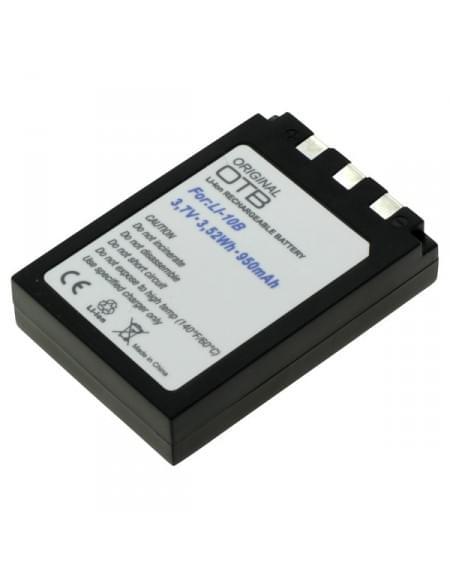 CE zertifiziert Akku, Ersatzakku ersetzt Olympus LI-10B / LI12B Li-Ion