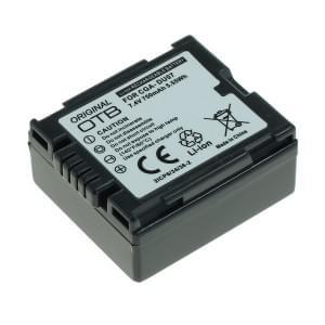 Ersatzakku ersetzt Panasonic CGA-DU7 Li-Ion