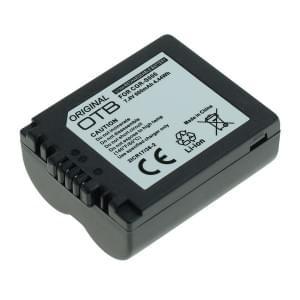 Ersatzakku ersetzt Panasonic CGR-S006 Li-Ion