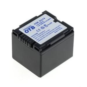 Ersatzakku ersetzt Panasonic CGA-DU14 Li-Ion