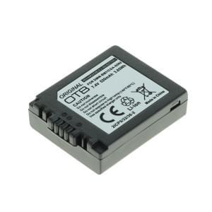 Ersatzakku ersetzt Panasonic DMW-BM7 / CGA-S002 Li-Ion