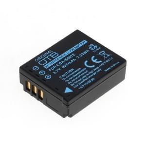 Ersatzakku ersetzt Panasonic CGA-S007 / DMW-BCD10 Li-Ion