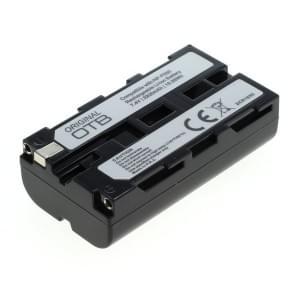 Ersatzakku ersetzt Sony NP-F550 Li-Ion - 2200mAh