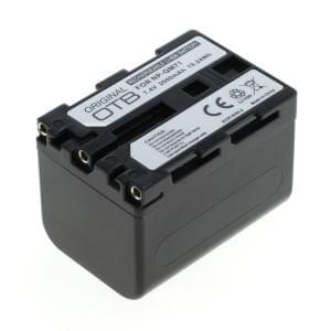 Ersatzakku ersetzt Sony NP-QM71 Li-Ion