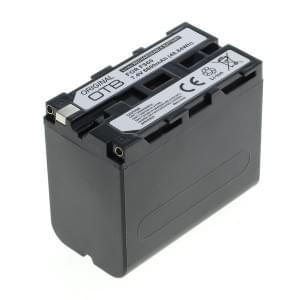 Ersatzakku ersetzt Sony NP-F960 / NP-F970 Li-Ion