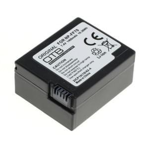 Ersatzakku ersetzt Sony NP-FF70 Li-Ion
