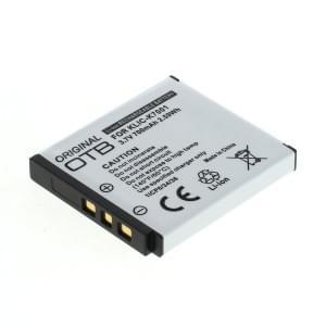 Ersatzakku ersetzt Kodak Klic-7001 Li-Ion